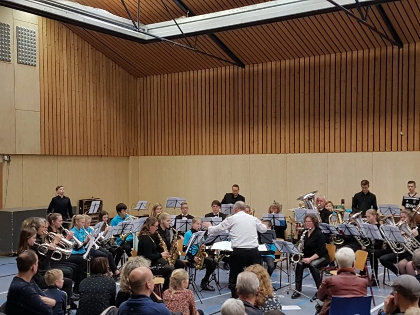 Verrassend verenigingsconcert Jouster Fanfare